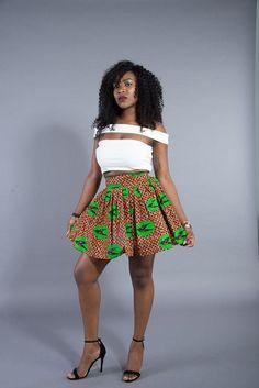 Nyla mini skirt