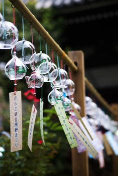 Japanese wind chimes Furin 風鈴