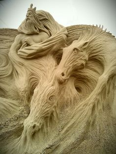 Breathtaking...2011 #SeaHorseNeptune, Weymouth GB (4)b | Flickr - Photo Sharing! #sand #sculpture