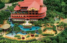 The Springs Resort and Spa Hotel in San Carlos, Costa Rica