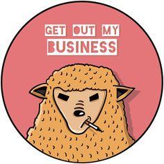 Badass sheep.