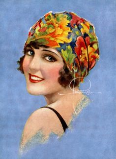 Vintage Rolf Armstrong Art Deco Pin-up Print Has Smile You Can't Resist Nr Rolf Armstrong, Art And Illustration, Illustrations Vintage, Pin Ups Vintage, Vintage Art, Vintage Ladies, Vintage Woman, Art Deco Stil, Art Deco Posters
