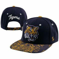 Zephyr LSU Tigers Purple Gold Snakeskin Strapback Adjustable Hat Fiesta  Bowl 20d917b8fb74