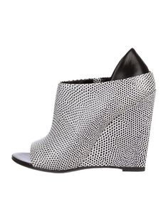 Alexander Wang Wedge Booties