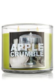 Apple Crumble 14.5 oz. 3-Wick Candle - Slatkin & Co. - Bath & Body Works....the BEST fall scent for your home