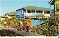 Butlins Pwllheli Butlinland Chalet and Gardens John Hinde Postcard Butlins Holidays, British Holidays, Bognor Regis, Seaside Holidays, Kids Growing Up, Family Humor, My Childhood Memories, Camping Life, Grand Tour