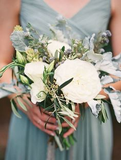 Image result for sage green and blue wedding