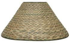 """Seagrass Coolie Lamp Shade 20-23""""W"""