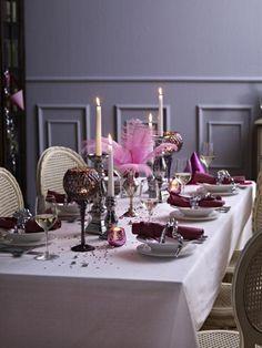 Silberne Silvester-tischdeko   Silvester   Pinterest   Deko Und ... Last Minute Tipps Silvester Party