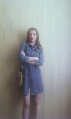 Shine all day : dżińsowa sukienka