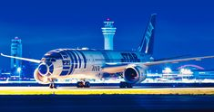 Ana Airlines, Aircraft, Vehicles, Aviation, Plane, Rolling Stock, Planes, Airplanes, Vehicle