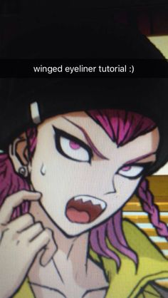 The Danganronpa characters have given me unrealistic expectations for my… Danganronpa Memes, Danganronpa Characters, Winged Eyeliner Tutorial, Pokemon, Cosplay Tutorial, Best Games, Hetalia, Anime Snapchat, Nerd