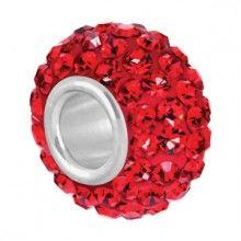 Bauble LuLu Roxy Red Shimmer Bead $15.00