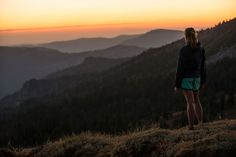 Hike to the top of a mountain peak and get exceptional views of Lake Tahoe at Squaw Valley