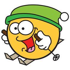 Stickers Emojis, Smileys, Funny Emoji Faces, Thomas Wayne, Smiley Emoji, Round Faces, Sign Printing, Cool Stuff, Dandy