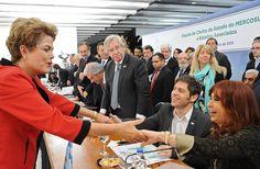 #CUMBREMERCOSUR - Estoy convencida de que la unidad de la América del Sur va permitir sostener estos años de crecimiento económico y de inclusión social y económica sin precedentes que ha tenido la región, aunque aún quedan grandes desafíos por adelante