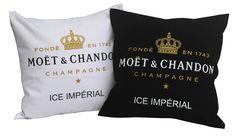 MOET & CHANDON pillows