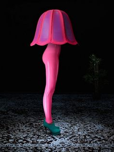 OE Magazine Issue 4 December 2012 Latex Haute Couture & Lingerie from Berlin | OE Magazine - Rose - Jambes