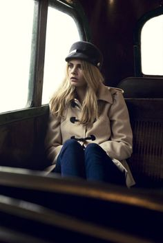Loved the retro charm of this shoot for A|wear fall10 ... features model Cara Delevingne in a very cool Sixties style.