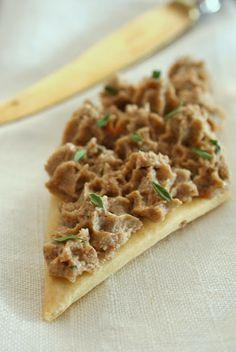 patè di funghi e noci