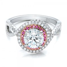 Would be prefect with emeralds instead of Pink Sapphires.