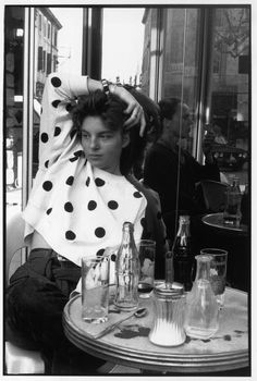 Henri Cartier-Bresson - France. Paris. Mélanie.