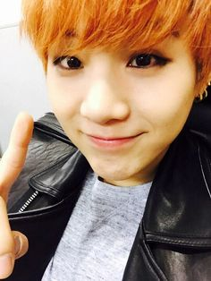 Suga - he wears more eye makeup than I do, but he's still my bias haha