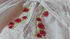 Detské oblečenie - Dievčenská krojová blúzka - 8633567_