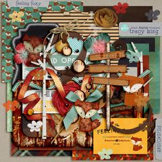 This weekend the digital scrapbooking community celebrates DSD (Digital Scrapbooking Day), in honor of that my fellow PDW designers and I h. Kit Digital, Digital Scrapbooking Freebies, Digital Backgrounds, Journal Cards, Christmas Ornaments, Feelings, Train, Blog, Fun