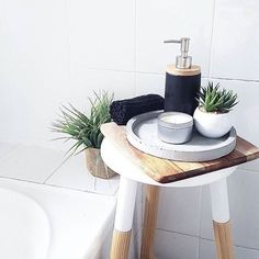 Kmart styling in bathroom
