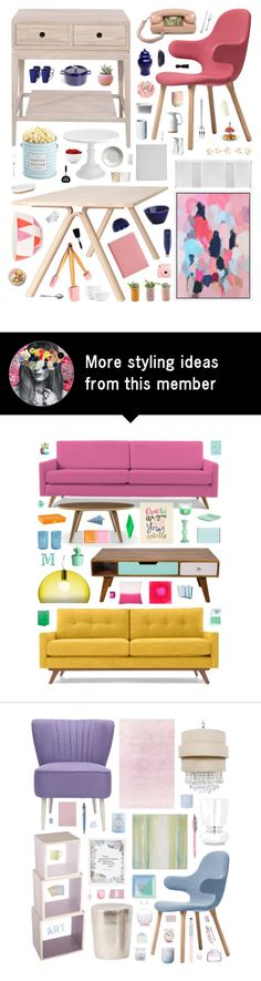 """Retro Kitchen"" by belenloperfido on Polyvore featuring interior, interiors, interior design, home, home decor, interior decorating, &Tradition, WeWood, Muuto and Universal Lighting and Decor"