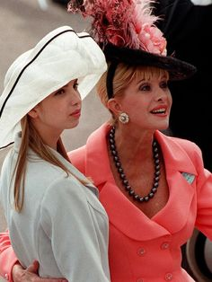 Ivanka with her mother Ivana Trump at Royal Ascot in London. Description from news.com.au. I searched for this on bing.com/images
