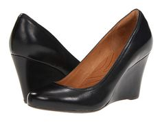 You can't go wrong with comfy Clarks wedges for work