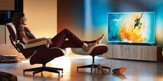 Die neuen Philips UHD-TV der 6000er und 7000er Serie bieten alle HDR und 4K-Auflösung. Ambilight und Android TV gibt es jetzt bereits in der Mittelklasse.