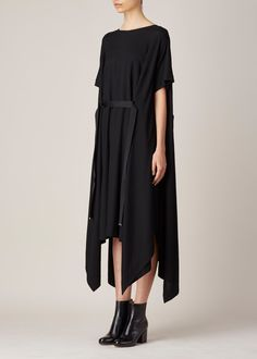 Maison Martin Margiela Belted Dress (Black)