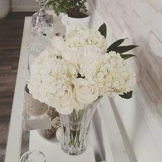 Hydrangea and Roses Arrangement