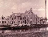 De zuivelfabriek (momenteel Hochwald) omstreeks 1900
