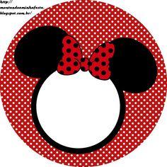 Montando minha festa: Kit digital grátis para imprimir Minnie Vermelha Minnie Mouse Stickers, Mickey E Minnie Mouse, Minnie Mouse Clubhouse, Minnie Mouse Theme Party, Minnie Baby, Baby Stickers, Minnie Birthday, Mouse Parties, Label Shapes
