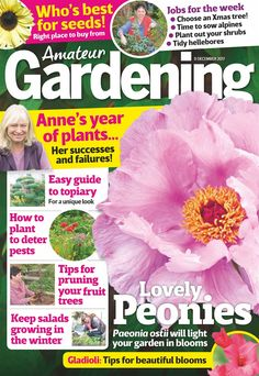 On a bid to make your garden blooming beautiful? Grab those gardening gloves and an Amateur Gardening magazine subscription, the UK's best-selling weekly gardening magazine. Discover a wide range of horticultural interests, plus expert tips from some the most influential gardeners today including Toby Buckland, Bob Flowerdew, Anne Swithinbank, Peter Seabrook and Charles Dowding. From beautifully illustrated features inspiring seasonal displays for your garden to interesting people and places in Lighting Your Garden, Lost Garden, Gardening Magazines, Success And Failure, Buy Plants, Gardening Gloves, Private Garden, Growing Flowers, Winter Garden