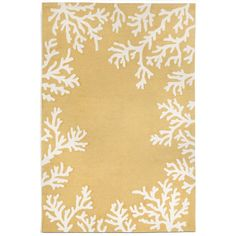 Found it at Wayfair - Capri Coral Border Yellow Indoor/Outdoor Area Rug