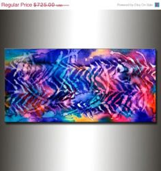 Abstract painting  ORIGINAL Contemporary by newwaveartgallery, $525.00