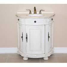 "Josh 31"" Single Demilune Bathroom Vanity Set"