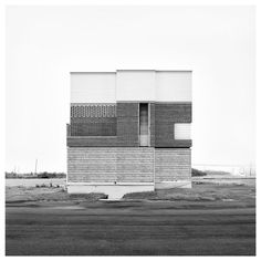 oliver michaels deconstructions our urban fabric and reassembles it, forming new structural landscapes that are both surreal and familiar at the same time. Sculpture Ornementale, Serge Najjar, Architectural Sculpture, Architectural Photography, Urban Fabric, Montage Photo, Bw Photography, Small Buildings, Facade Architecture