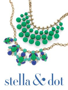 Perfect Pop of Color to add to your summer wardrobe http://www.stelladot.com/Randimanning