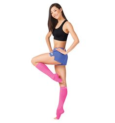 Adult Compression Foot Sleeve Plus Calf Sleeve - 1 Pair - Style Number: FS62 #discountdance #orthosleeve