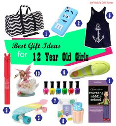 The unrivaled guide to non toy gifts 200 presents for kids of all 12th birthday gift ideas for girls negle Gallery