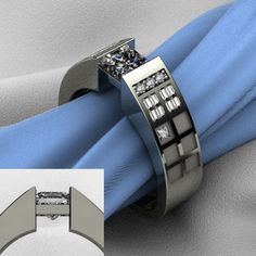 Tardis Engagement Ring. so nerdy, but awesome. lol.