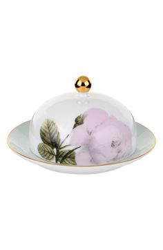 Portmeirion x Ted Baker 'Rosie Lee' Covered China Butter Dish available at #Nordstrom