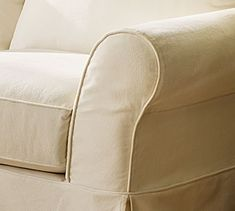 Pottery Barn's expertly crafted collections offer a widerange of stylish indoor and outdoor furniture, accessories, decor and more, for every room in your home. Sectional Slipcover, Slipcovers For Chairs, Sofa Deals, Home Furniture, Outdoor Furniture, Fashion Room, Pottery Barn, Family Room, Armchair