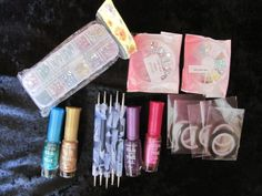 'BN Nail Decoration Set with Nail Paints' is going up for auction at  7am Wed, Nov 6 with a starting bid of $12.